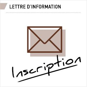 Lettre d'information - Inscription